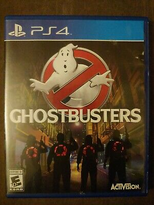 AU25.77 • Buy Ghostbusters Playstation 4 Ps4 Kids Game Multiplayer 1-4