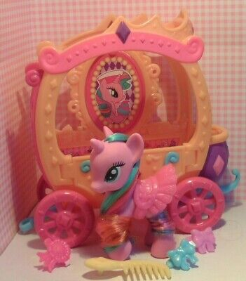 My Little Pony G4 Sweetie Swirl With Super VHTF Carriage  • 29£