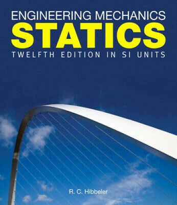 Engineering Mechanics: Statics In SI Units Pack By Russell C. Hibbeler • 892£