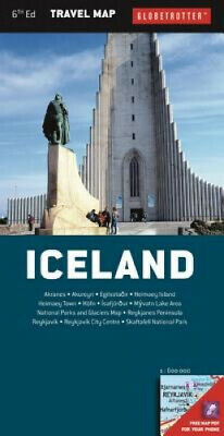 Iceland (Globetrotter Travel Map) By Globetrotter • 43.30£