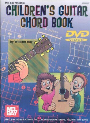 Children's Guitar Chord Book [With DVD] By William Bay • 22.04£
