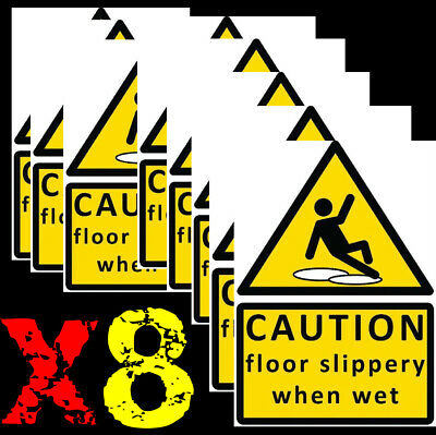 Caution floor slippery when wet sign HOT21 Warning and hazard notices