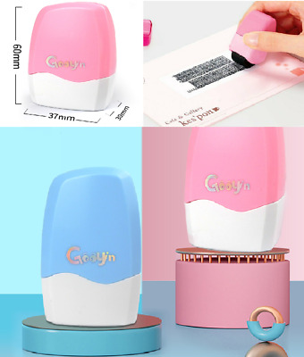 Identity Stamp Theft Protection Roller Privacy Confidential Data Guard Your ID • 4.89£