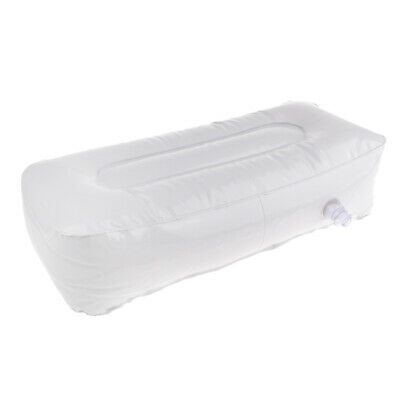£8.51 • Buy PVC White Cushion Inflatable Boat Outdoor Camping Rest Seats Valve Pillow
