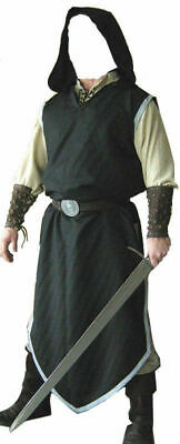 Black Color Medieval Viking Renaissance Clothing Tunic For Reenactment Theater • 29.50£