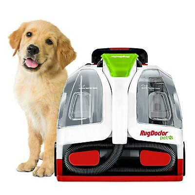 Pet Portable Spot Carpet Cleaner Removes Hair And Cleans Stains Dual Action • 140.74£