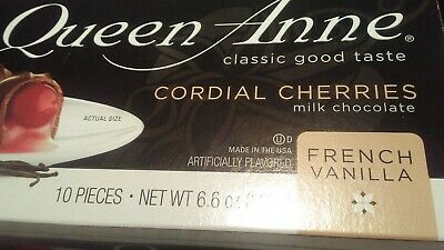 $6.99 • Buy *WORLD'S FINEST QUEEN ANNE CORDIAL CHERRIES Covered In Milk Chocolate (1) Box*