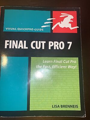 £1.47 • Buy Visual QuickPro Guide Ser.: Final Cut Pro 7 : Learn Final Cut Pro The Fast,...