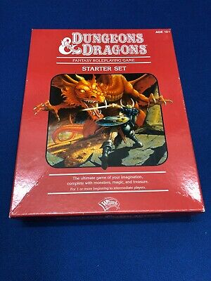 AU79.95 • Buy DUNGEONS & DRAGONS Starter Set Red Box (2011) - 4th Edition