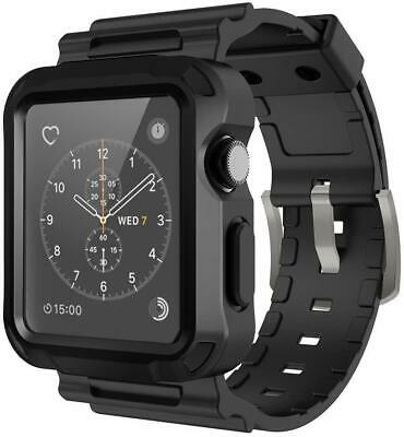 $ CDN19.36 • Buy Apple Watch Series 3/2/1 Rugged Protective Durable Case W/ Armor Strap Band 42mm