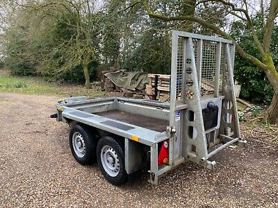 2011 Ifor Williams GD84 Mesh Side Twin Axle Trailer 2700kg Vgc • 2,250£