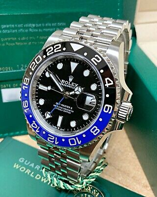 $ CDN25046.86 • Buy Rolex GMT Master II 126710BLNR 40mm Black Dial With Papers 2021 UNWORN