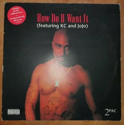 2pac How Do U Want It Feat. KC And JoJo Vinyl 12  • 15£