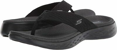Skechers Women's Shoes Goga Mat Open Toe Casual, Black, Size 6.0 VK9j US • 14.99£