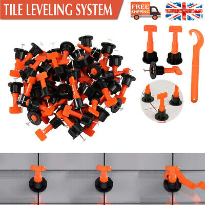 £11.99 • Buy 100PCS Tile Leveling System Kits Leveler Spacer Wall Floor Tool Construction
