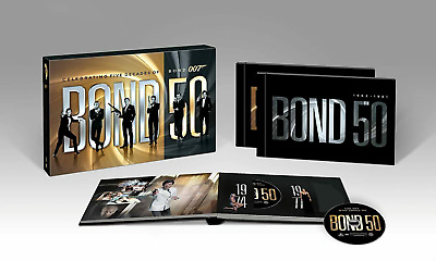 $43.99 • Buy US^A-Bond 50 - Collection Five Decades Of James Bond 007 DVD 22-Disc New (2012);