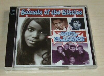 V/a SOUNDS OF THE SIXTIES Soul Classics 2CD Time Life TL SCC/25 New Sealed • 18£