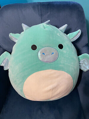 "$ CDN45 • Buy 12"" SQUISHMALLOWS - Miles The Dragon (RARE, HTF)"