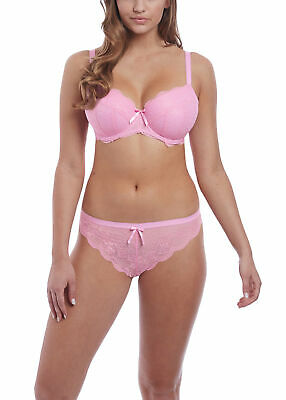 AU40 • Buy Freya Fancies Sweet Pea Underwire Padded Half Cup Bra & Brazilian Set 30e / 8e