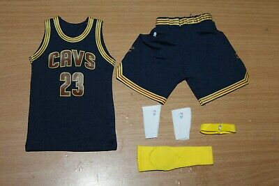 $46.41 • Buy Enterbay 1/6 Scale Lebron James Cleveland Cavs Jersey Set New