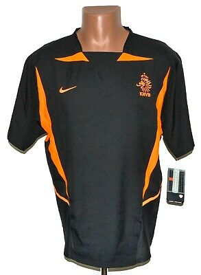 *bnwt* Holland Netherlands 2002/2004 Away Football Shirt Jersey Nike Size M • 119.99£