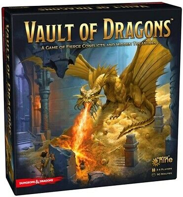 AU35.73 • Buy Dungeons & Dragons Vault Of Dragons Board Game Brand New Amazing Price