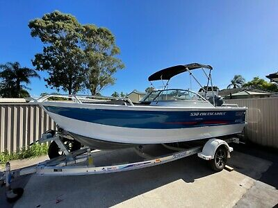 AU55890 • Buy 2019 Quintrex 530 Cruiseabout & 130 Yamaha 4 Stroke Only 51 Hrs