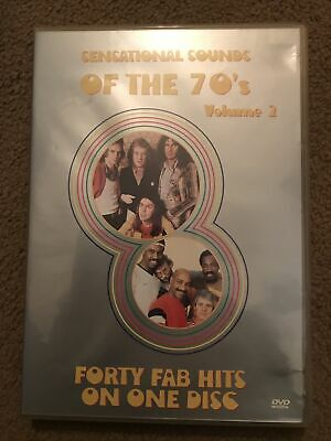 Various - Sensational Sounds Of The 70's - Vol. 2 [DVD] - DVD • 20£