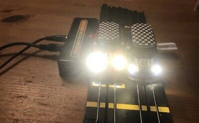 Micro Scalextric Mini 1:64 Car Rebuilt With Lights Please Read Full Description  • 22£