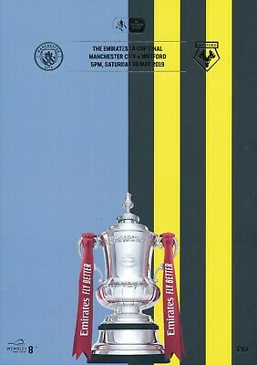 £10.99 • Buy FA CUP FINAL PROGRAMME 2019 Watford V Manchester City - Official Match Programme