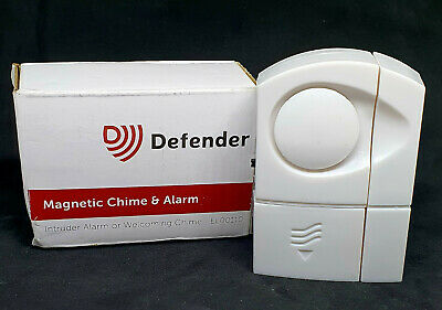 £7.49 • Buy Defender Magnetic Chime & Alarm Easy Fitting With No Wiring Required