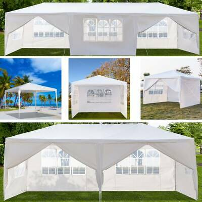 £33.95 • Buy 3X3/6/9M Garden Gazebo Marquee Party Tent Wedding Canopy Shade Outdoor 8 Sizes