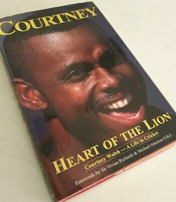 AU50 • Buy Rare Courtney Walsh Signed Autobiography Hard Cover Book Heart Of The Lion