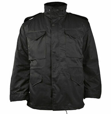 $70.90 • Buy Mil-Tec US Army M65 FIELD JACKET Mens W/ Thermo Liner Black