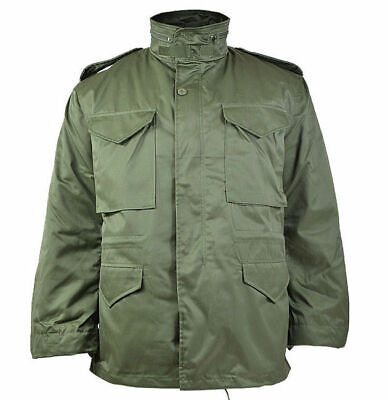 $70.90 • Buy Mil-Tec US Army M65 FIELD JACKET Mens W/ Thermo Liner Olive OD Green