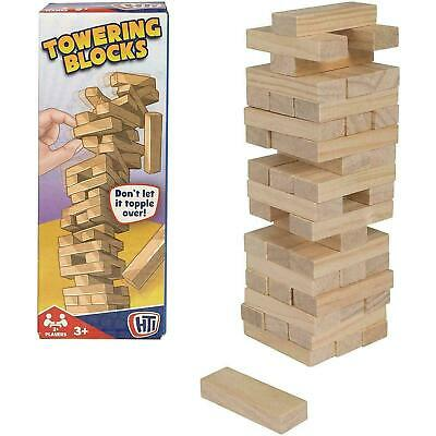 £6.57 • Buy HTI Toys Traditional Games Towering Blocks, 48 Piece Set, Family, Ages 3 Years +