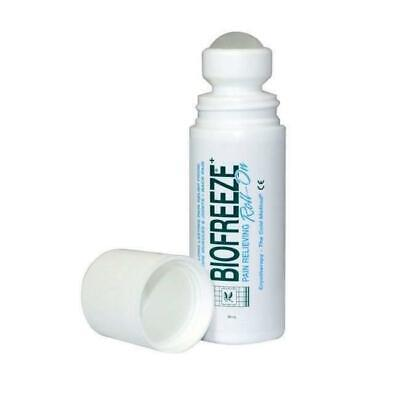 Biofreeze 3oz Roll On Gel Stick Relieving Tube Pain Relief • 12.99£