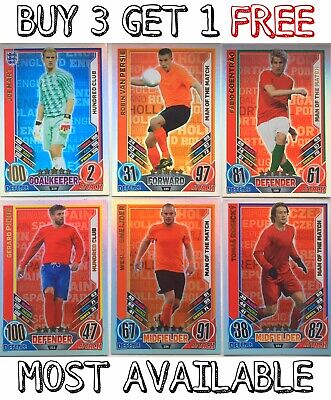 £2.99 • Buy Match Attax Euro 2012 100 Club/Limited Edition/MOTM - Complete Your Collection