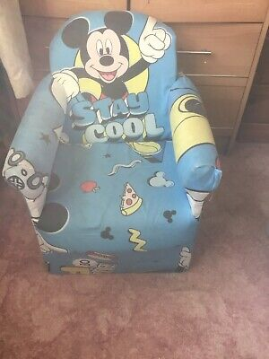 £5 • Buy Childs Micky Mouse Comfy Chair