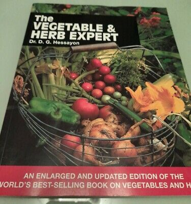 The Vegetable And Herb Expert: The World's Best-selling Book On Vegetables &... • 9.99£