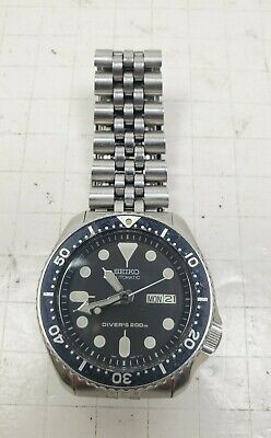 $ CDN315.19 • Buy Seiko SKX007K2 Brushed Stainless Steel Wrist Watch Diver