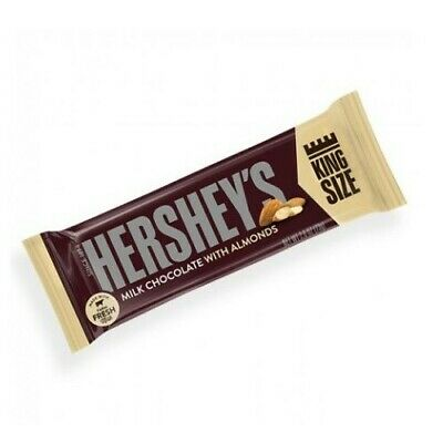 £15.25 • Buy Hershey's Milk Chocolate With Almonds (73g) PACK OF 5