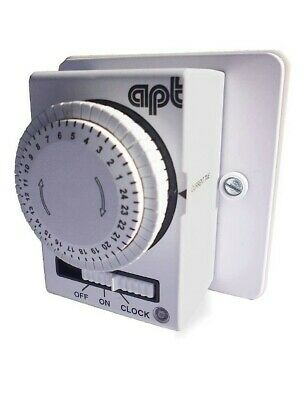 APT IMM24 16A Immersion Heater Timer Switch 24hr • 42£