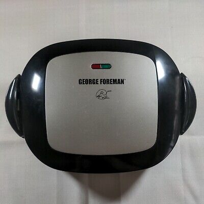 George Foreman GRP472P Electric Grill & Panini Press Removable Plate USA • 37.57£