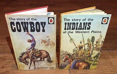 ⭐️ Vintage 1970s ⭐️ The Story Of Cowboys & Indians Ladybird Books Series 707 • 7.99£