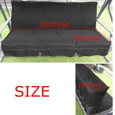 Swing Seat Cover Chair Protection Foldable Patio Garden Waterproof Solid Outdoor • 10.58£