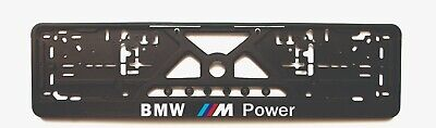 $19 • Buy 2x European License Number Plate Frame Holder Surround For BMW Fans M Power M