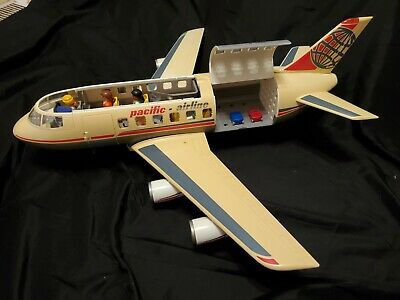 £106.66 • Buy Vintage Playmobil Pacific Airline Plane Model 4310 - 7 People, 2 Suitcases