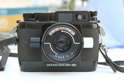 Nikonos Lll 35mm Underwater Camera With 35mm F2.5 Lens And Close-up Kit And Case • 75£