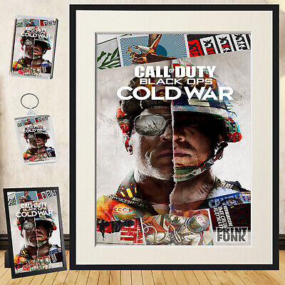 £5.95 • Buy Call Of Duty Poster Print Black Ops Cold War Game Wall Art + Frame / Gift